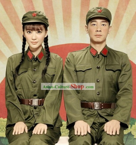 Chinese Reminiscence Old Time Uniform