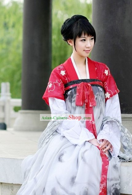Chinese Classical Tang Dynasty Beauty Costume