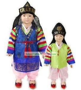 Ancient Korean Prince Costumes Complete Set