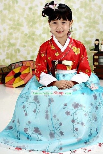 Traditional Korean Attire for Kids