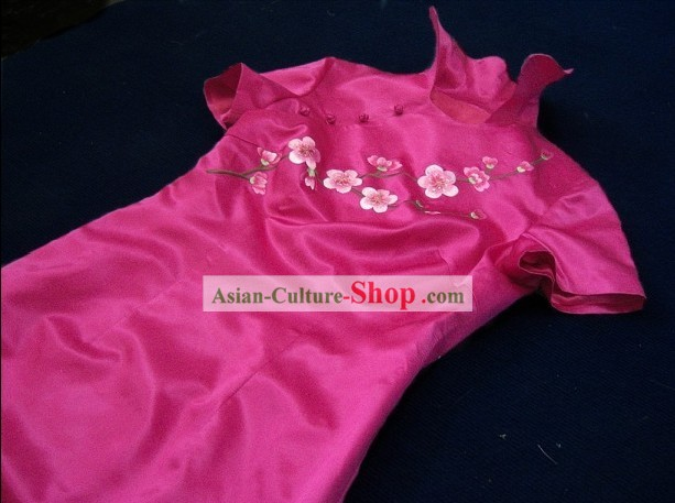 High Collar Chinese Wedding Qipao
