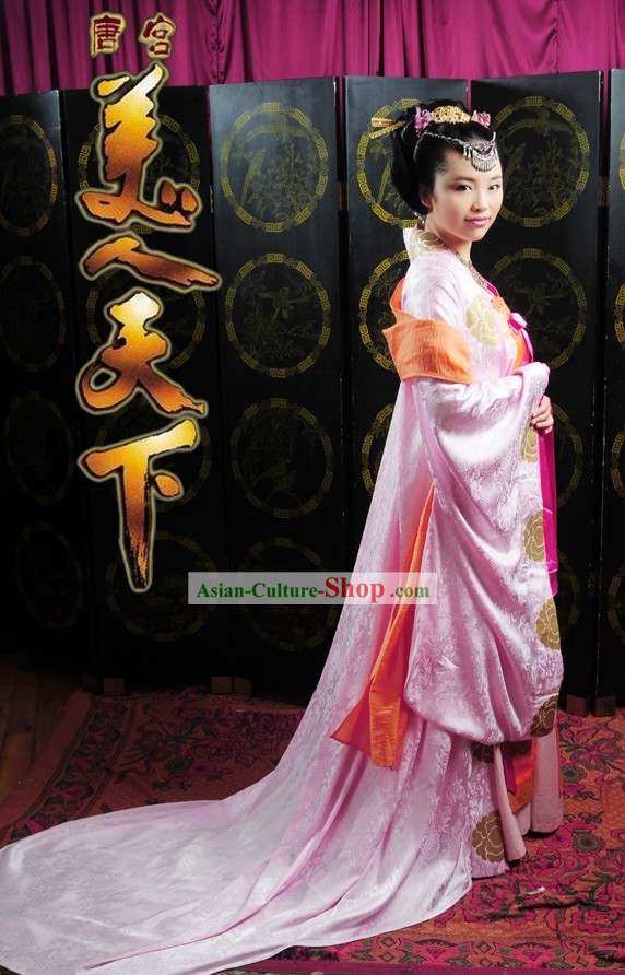 Ancient Chinese Tang Dynasty Princess Clothing
