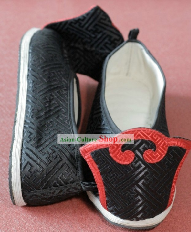 Traditional Chinese Handmade Black Shoes