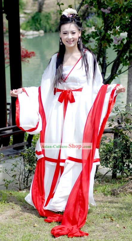 Ancient China Beauty Clothes Complete Set