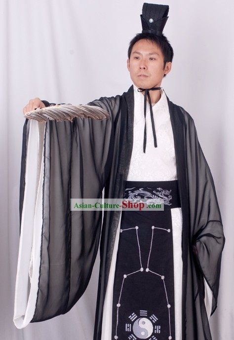 Zhuge Liang Ba Gua Costume Complete Set for Men