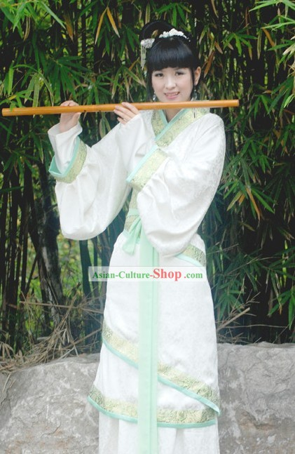 Ancient Chinese Musician Clothes Complete Set for Women