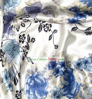 Hangzhou Flower 100 Percent Chinese Silk