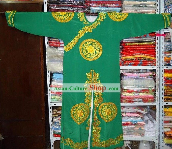 Chinese Beijing Opera Embroidered Fighting Costume for Men