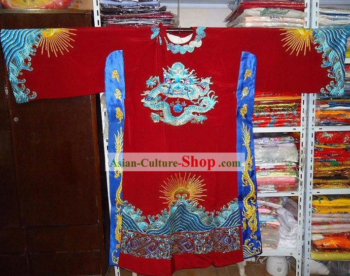 Chinese Opera Prime Minister Dragon Robe Costumes