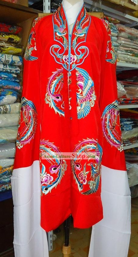 Chinese Peking Opera Embroidered Phoenix Costumes for Women