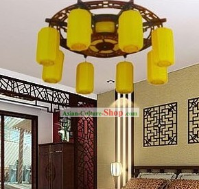 Chinese Style Ceiling Lanterns Set