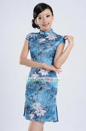 Chinese Summer Lotus Qipao