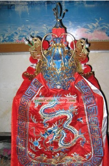 Ancient Chinese Opera General Helmet Hat