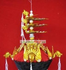 Ancient Chinese Phoenix Crown Hat