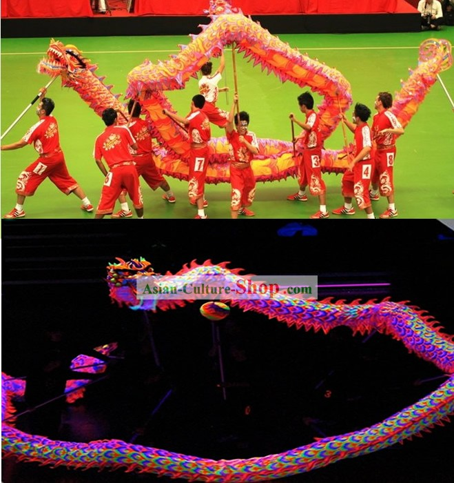Supreme Luminous Dragon Dancing Costume Complete Set