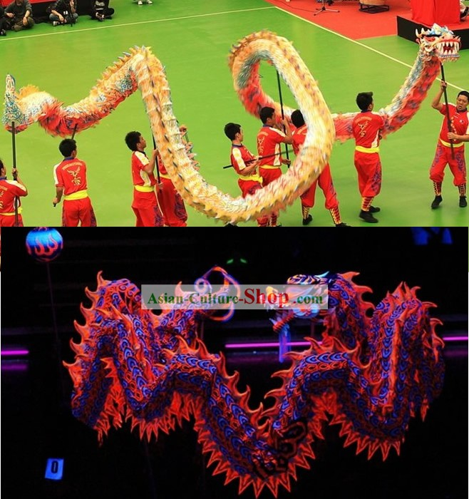 Competition and Parade Luminous Dragon Dancing Costume Complete Set