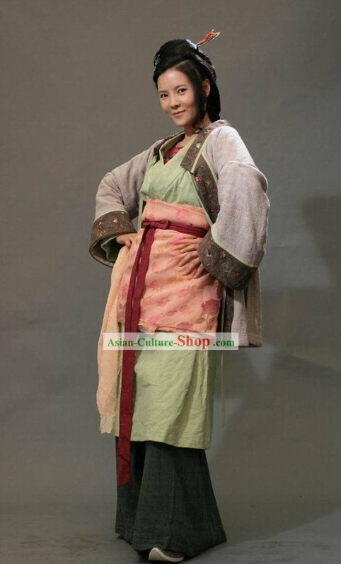 Water Margin Opera Sun Er Niang Women Heroine Costumes