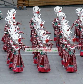 Beijing Olympic Games Opening Ceremony Miao Dance Costumes Complete Set