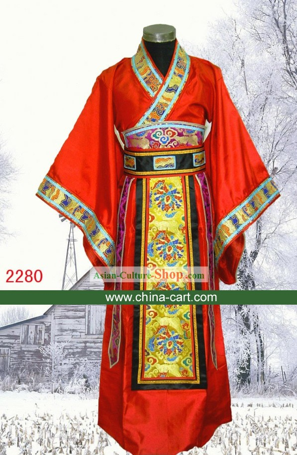 Ancient Chinese Wedding Dress for Bridegrooms