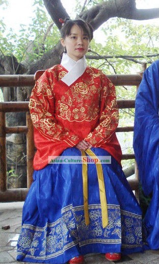 Traditional Chinese Ming Dynasty Princess Clothing