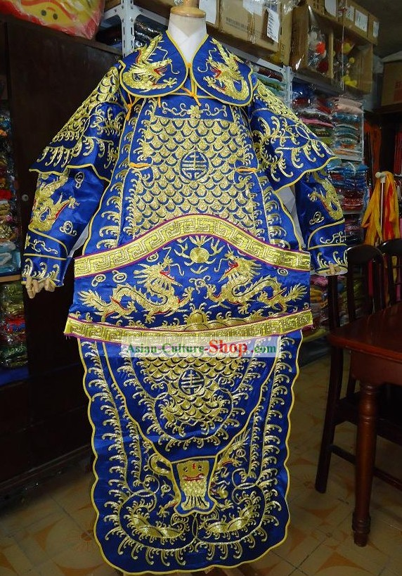 Peking Opera Dragon Armor Costume Complete Set