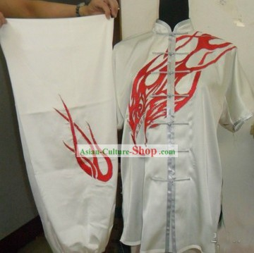 Chinese Silk Martial Arts Uniform for Men