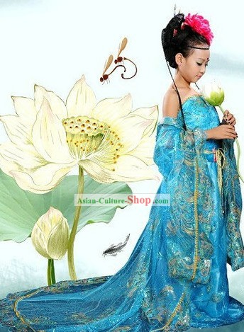 Ancient Chinese Princess Costume for Children