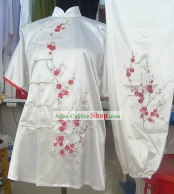 Traditional Chinese Silk Kung Fu Performance Suit