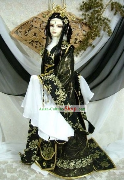Ancient Chinese Female Swordsmen Costumes Complete Set