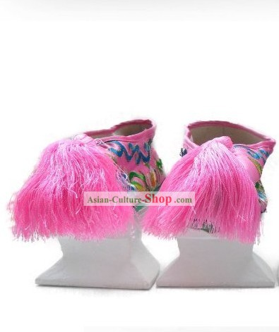 Traditional Handmade Hanfu High Heel Shoes