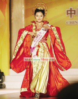 Beauty Pageant Ancient Chinese Clothing Set