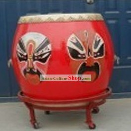 Chinese Classical Hand Made Peking Opera Drum
