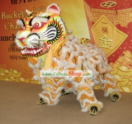 Supreme Handmade Tiger Dancing Costumes Complete Set