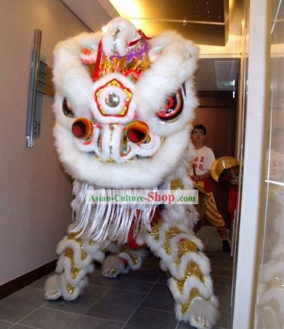 Opening Ceremony Chinese Lion Dance Costume Complete Set