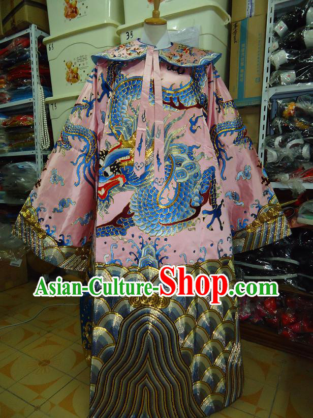 Beijing Opera Embroidered Dragon Robe