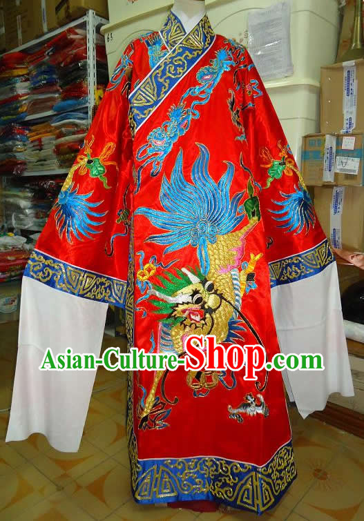 Beijing Opera Embroidered Kylin Costume Robe