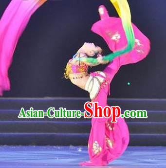 Chinese Classic Flying Angel Apsaras Dance Costumes for Kids