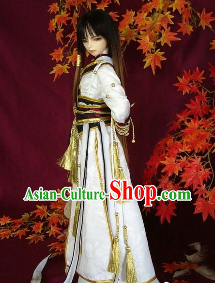 Ancient Chinese Swordsman Clothing Complete Set