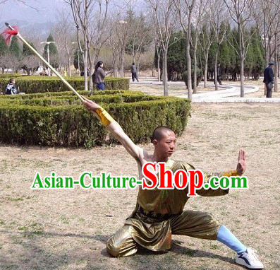 One Shoulder Shaolin Kung Fu Suit Complete Set for Men