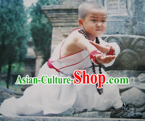 Ancient Chinese Shaolin Martial Arts Costumes for Kids