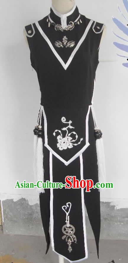 Ancient Chinese Style Black SD Costume