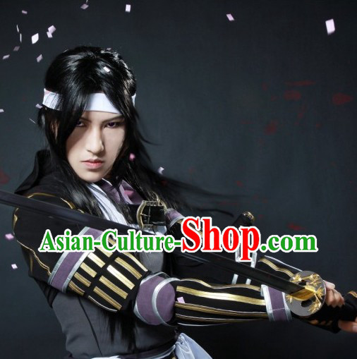 Ancient Chinese Male Swordsman Costumes for Men