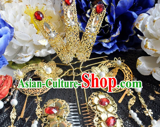 Ancient Chinese Palace Concubine Headpiece for Women