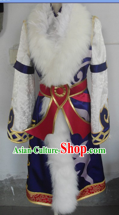 Ancient Chinese Halloween Swordsman Costume for Men