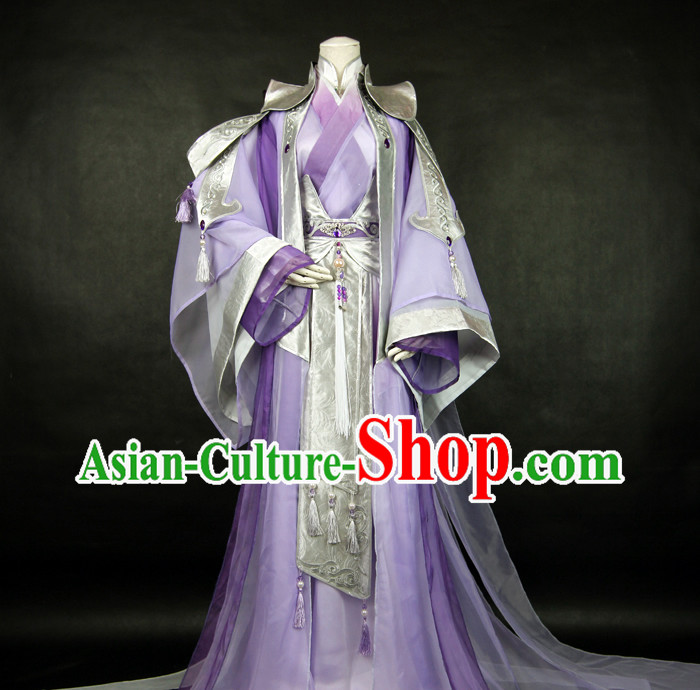 Ancient Chinese Prince Costume Complete Set for Men