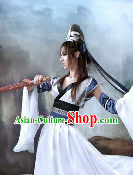 Chinese SD Female Knight Costumse