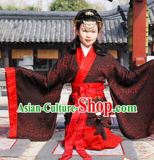 Ancient Chinese Han Empress Wedding Dress for Women