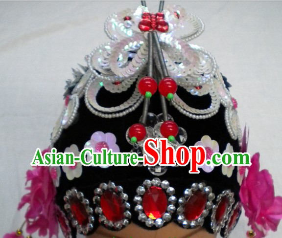 Chinese Opera Hua Dan Headpiece Set for Women