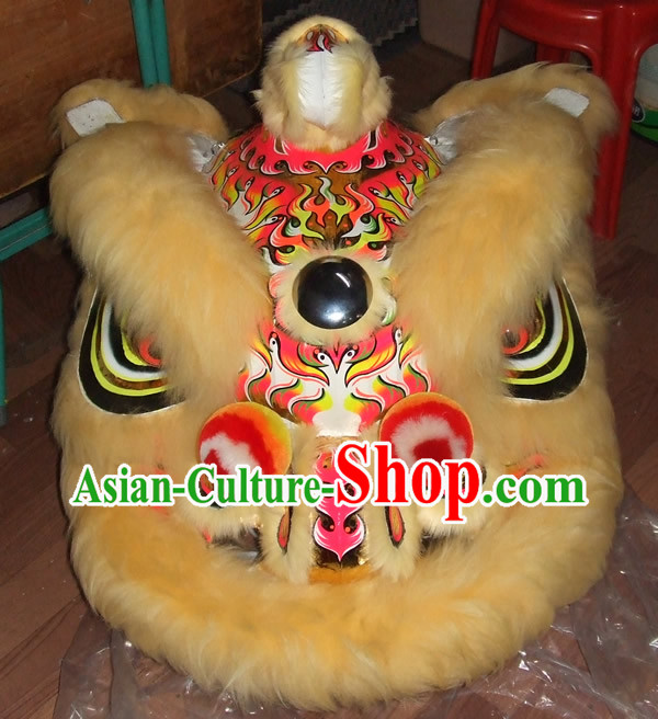 New Style Chinese Lion Dance Costume Complete Set for Adults