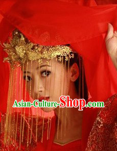 Ancient Chinese Wedding Brides Phoenix Coronet